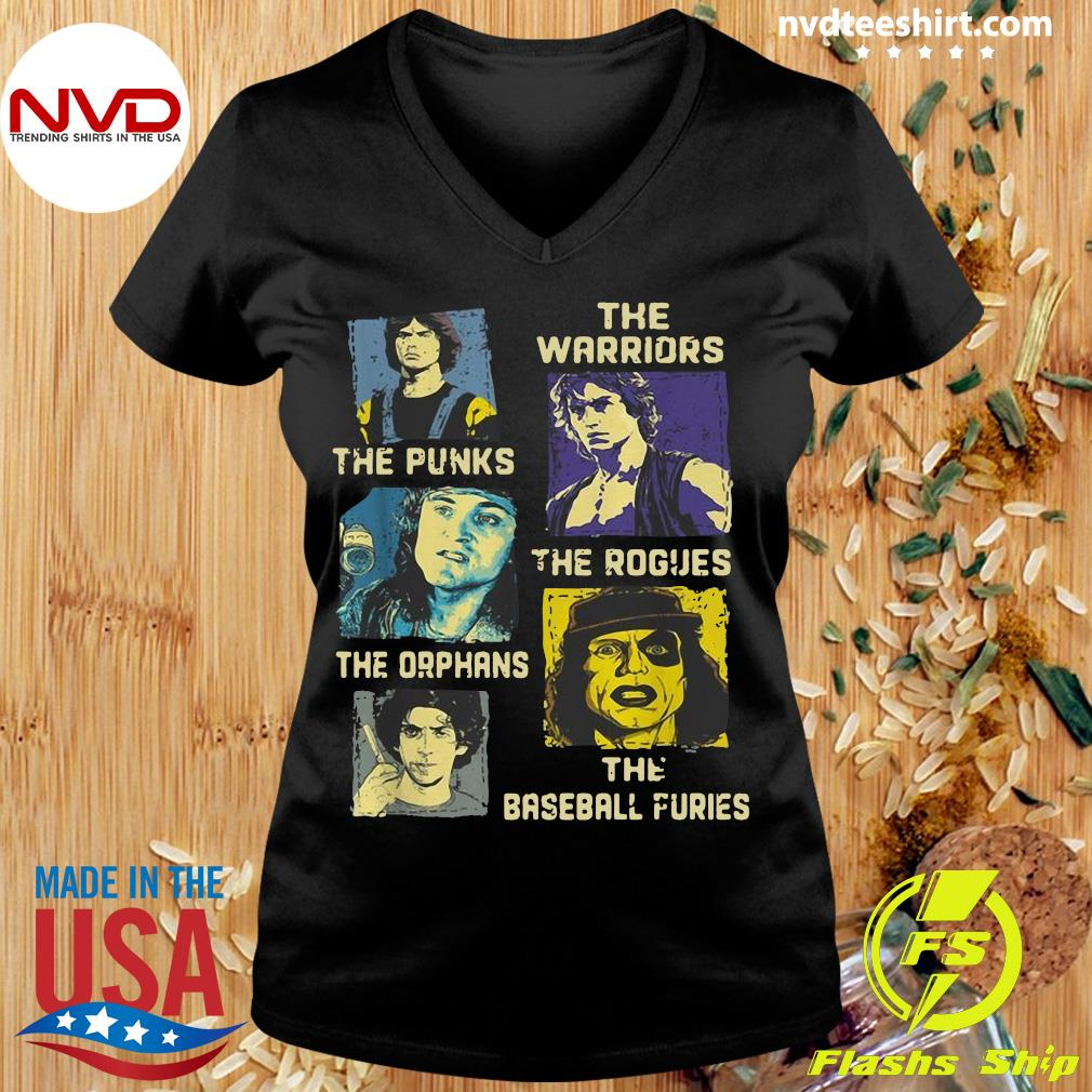 Official The Warriors The Punks The Rogues The Orphans The Baseball Furies Shirt Ladies tee