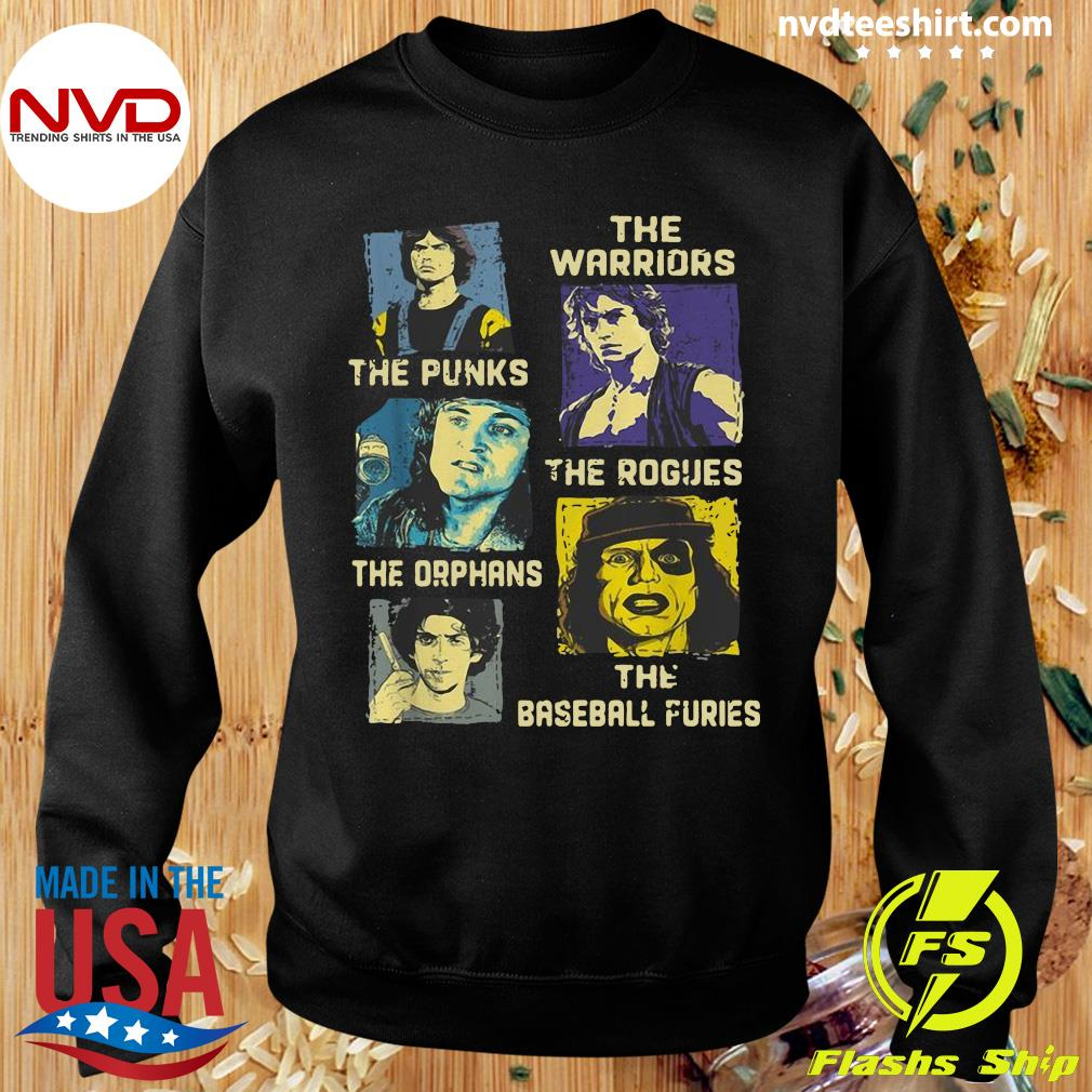 Official The Warriors The Punks The Rogues The Orphans The Baseball Furies Shirt Sweater