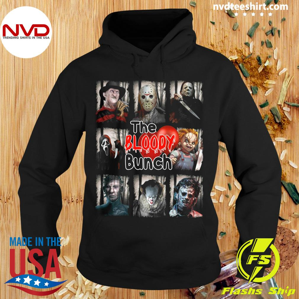 The Bloody Bunch Halloween Shirt Hoodie
