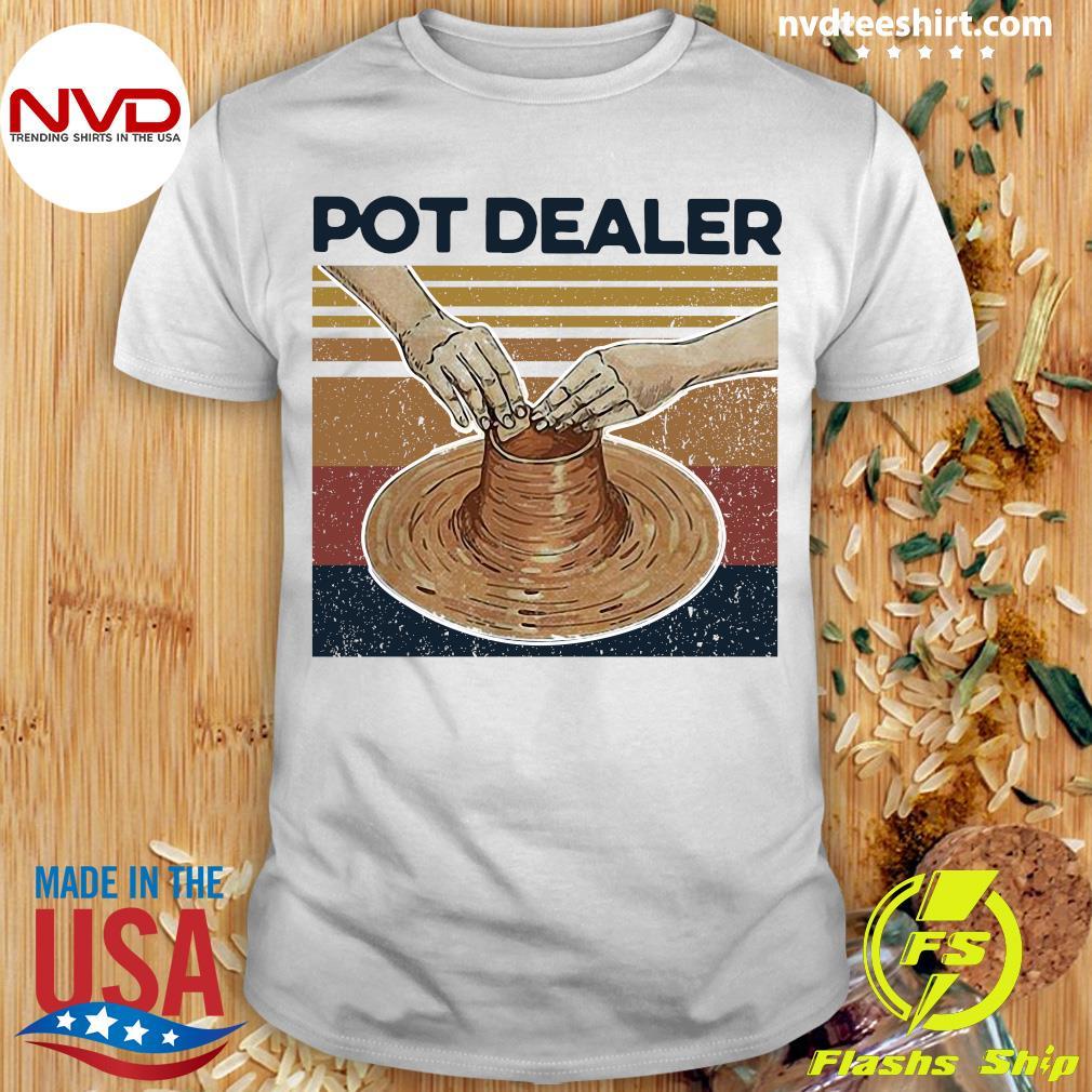 Vintage Retro Pot Dealer Pottery Shirt