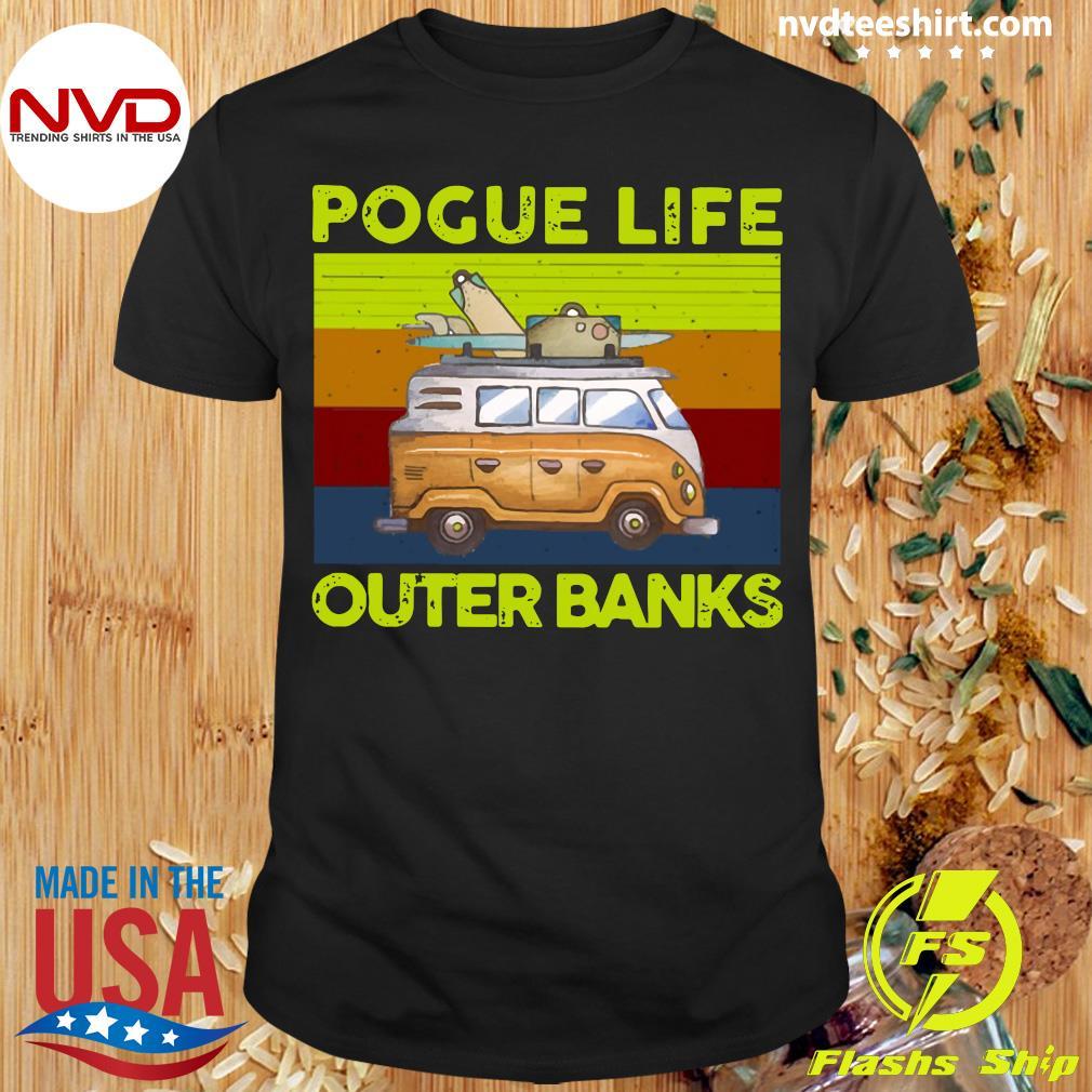 Vintage Volkswagen Pogue Life Outer Banks Shirt