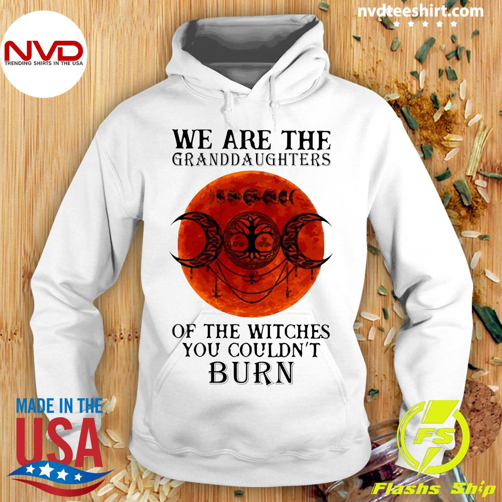 We Are The Granddaughters Of The Witches You Couldn't Burn Vintage Shirt Hoodie
