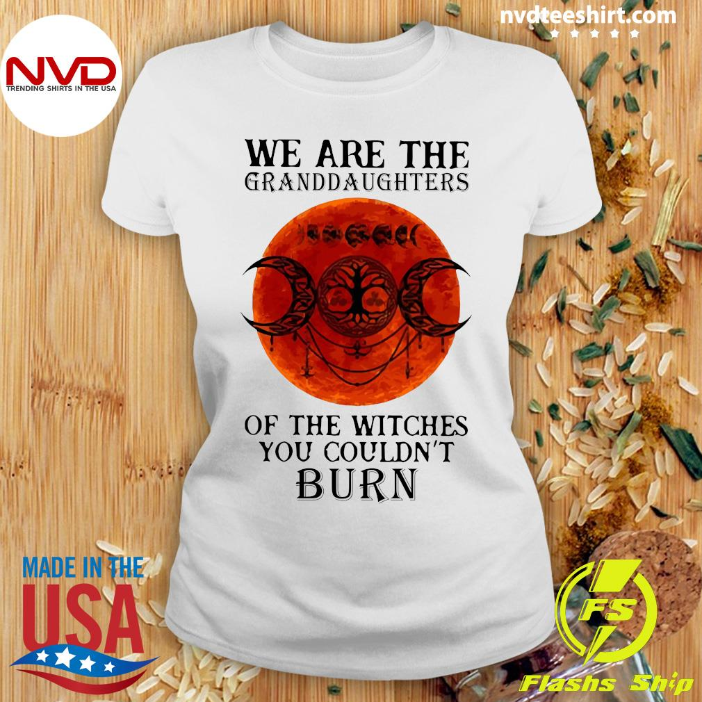 We Are The Granddaughters Of The Witches You Couldn't Burn Vintage Shirt Ladies tee
