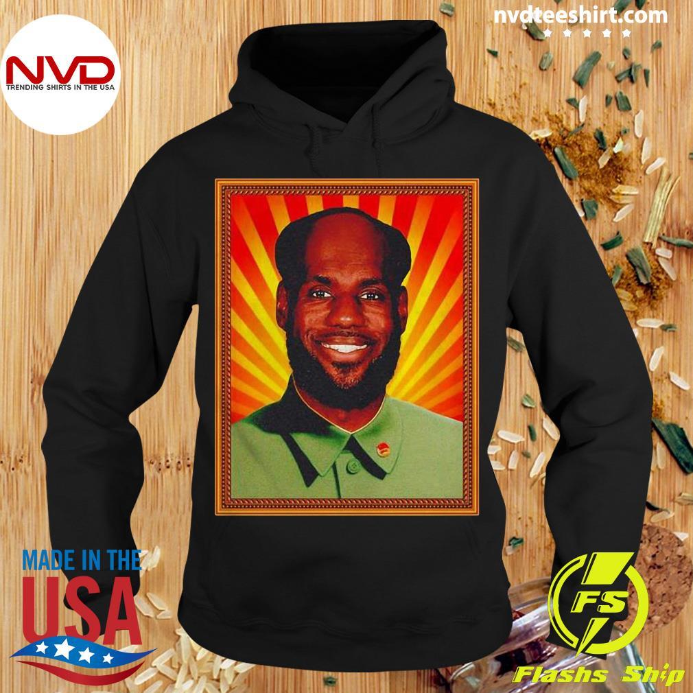 Funny Chairman Lebron Mao Shirt Hoodie