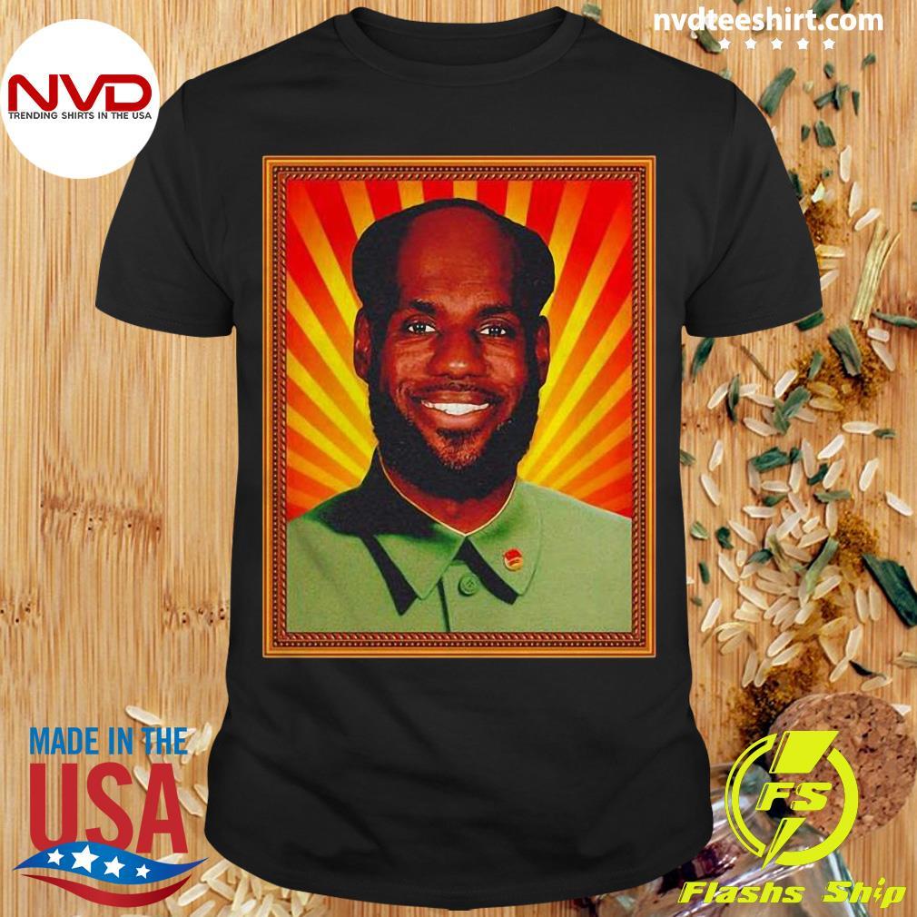 Funny Chairman Lebron Mao Shirt