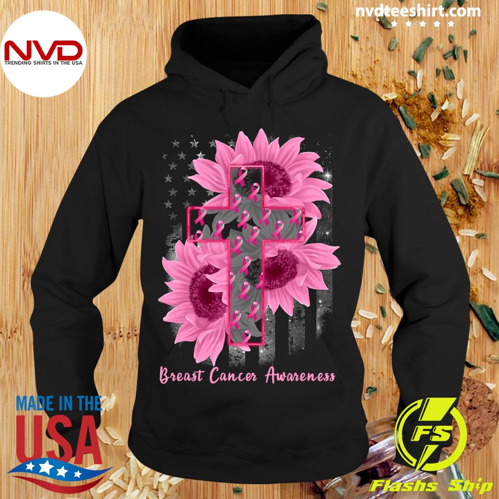 Funny Sunflower Breast Cancer Awareness Shirt Hoodie