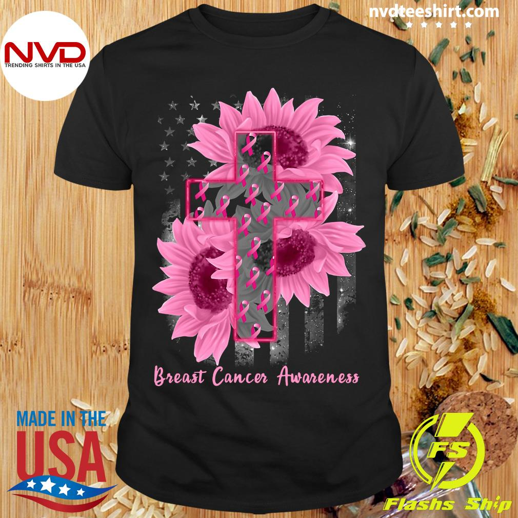 Funny Sunflower Breast Cancer Awareness Shirt