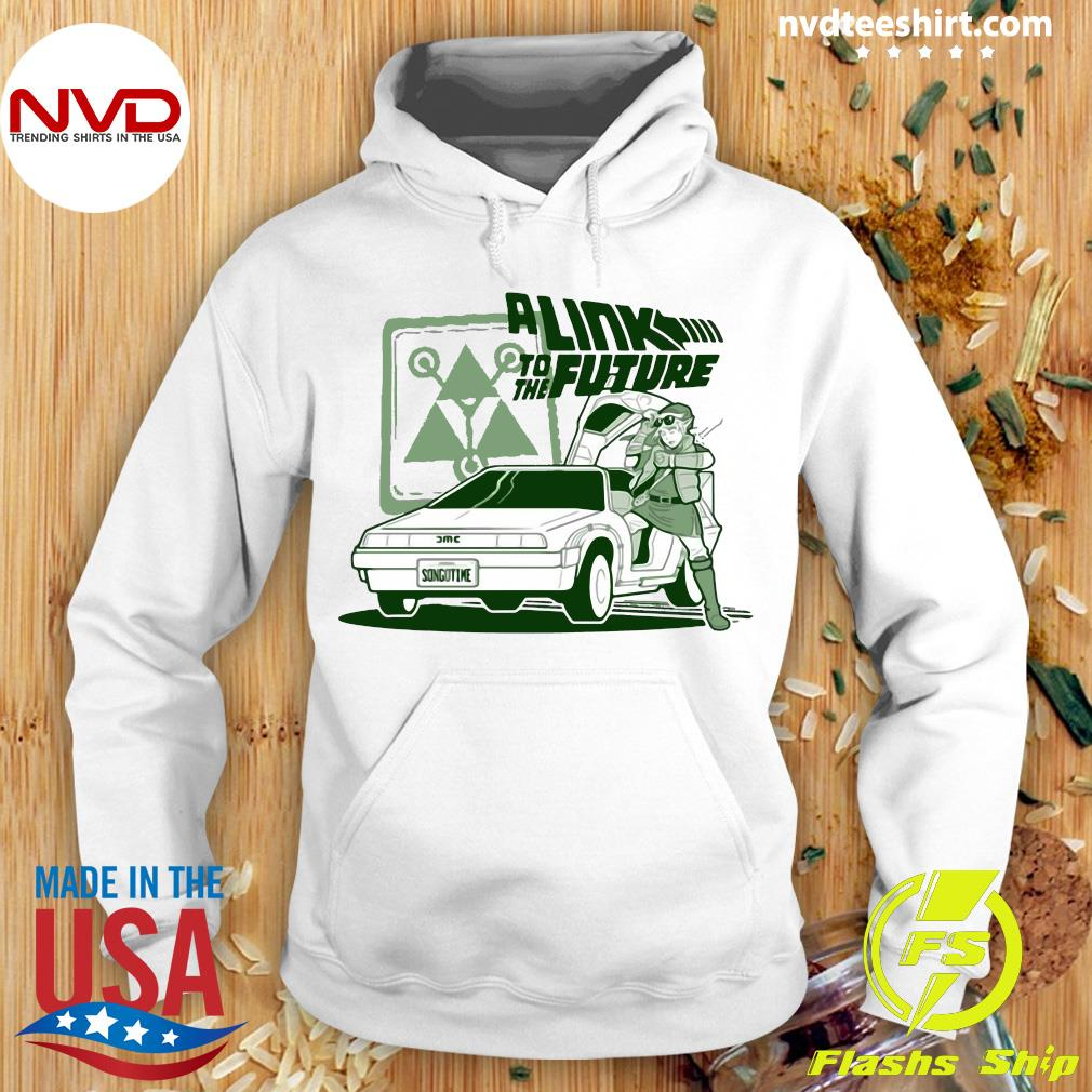 Official A Link To The Future Shirt Hoodie