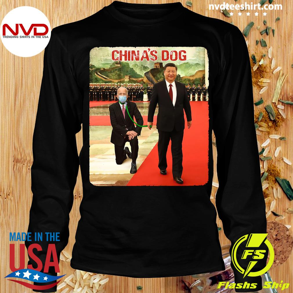Official China's Dogs Shirt Longsleeve