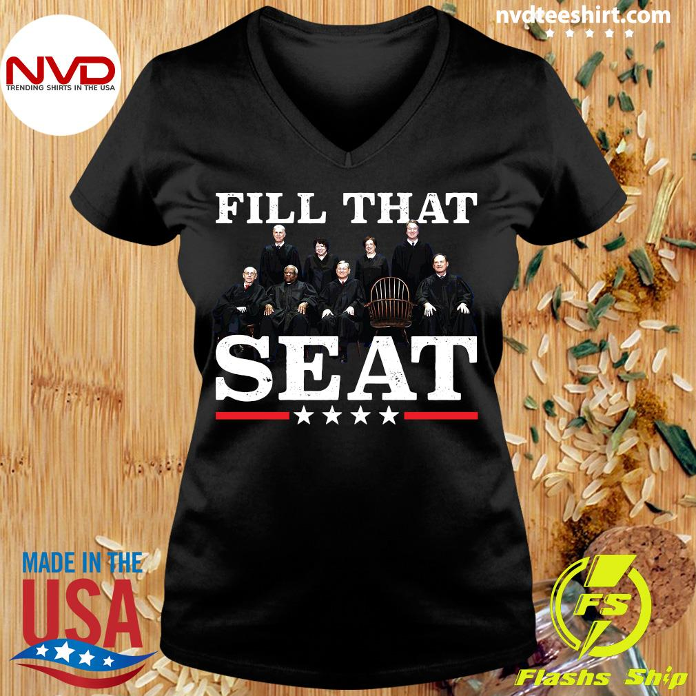 Official Fill That Seat Shirt Ladies tee