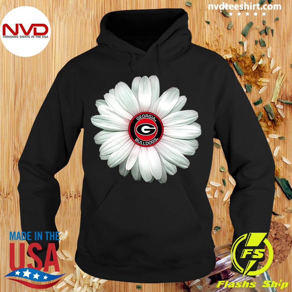 Official Georgia Bulldogs Daisy Flower Shirt Hoodie