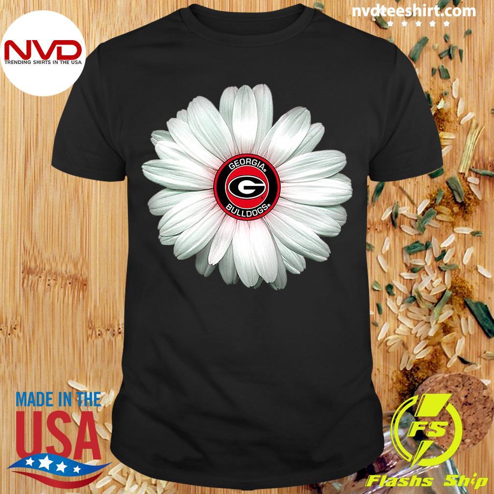 Official Georgia Bulldogs Daisy Flower Shirt