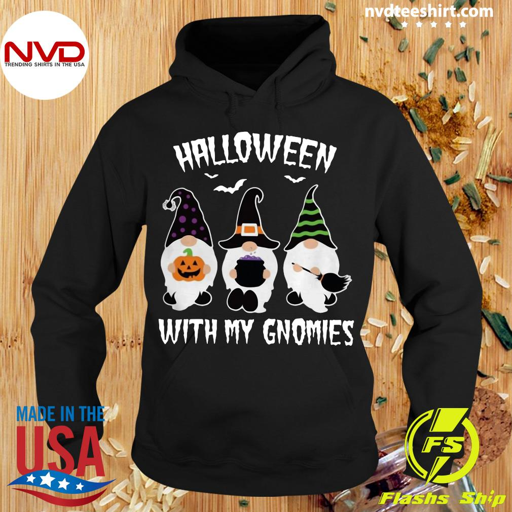 Official Halloween With My Gnomies Dwarfs Shirt Hoodie