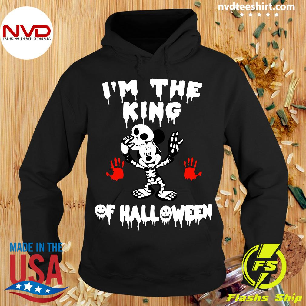 Official I'm The King Of Halloween Mickey Mouse Disney Shirt Hoodie