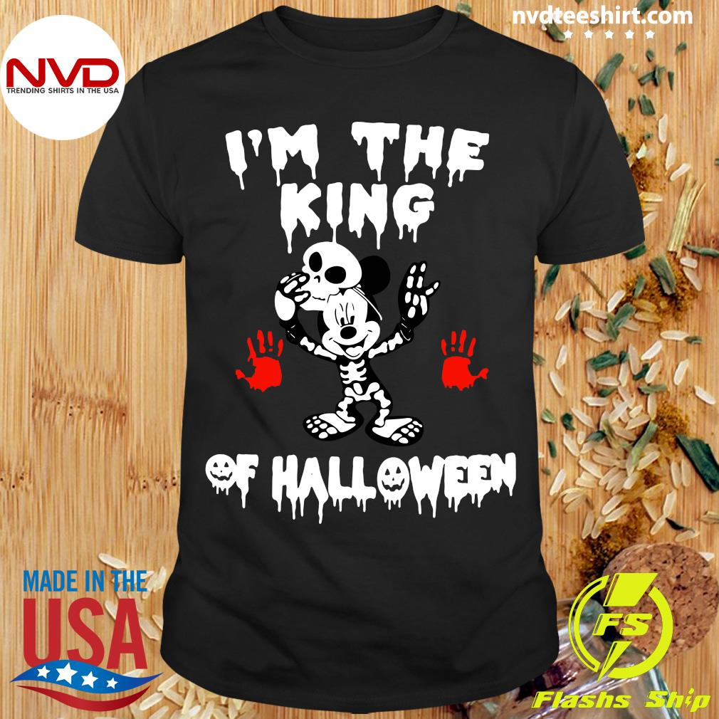 Official I'm The King Of Halloween Mickey Mouse Disney Shirt