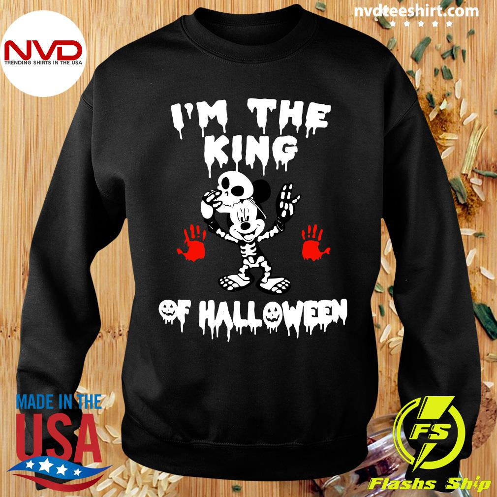 Official I'm The King Of Halloween Mickey Mouse Disney Shirt Sweater
