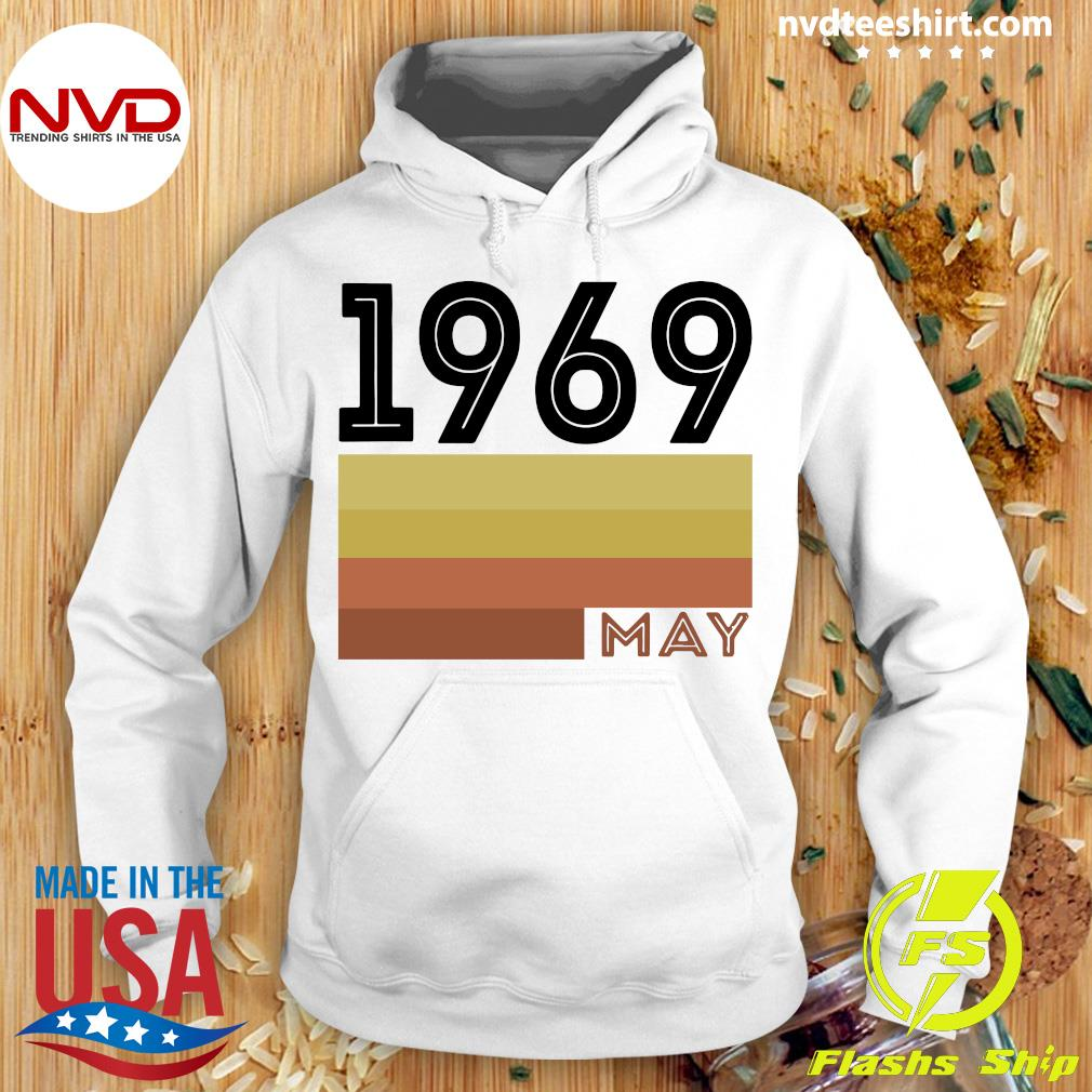 Official May 1969 T Shirt 50 Year Old Shirt 1969 Birthday Gift Hoodie