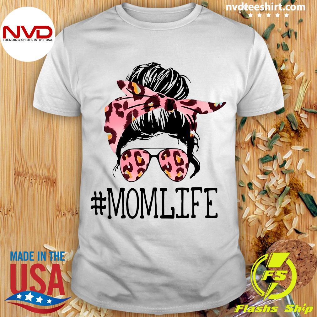 Official Mom Life Leopard Shirt