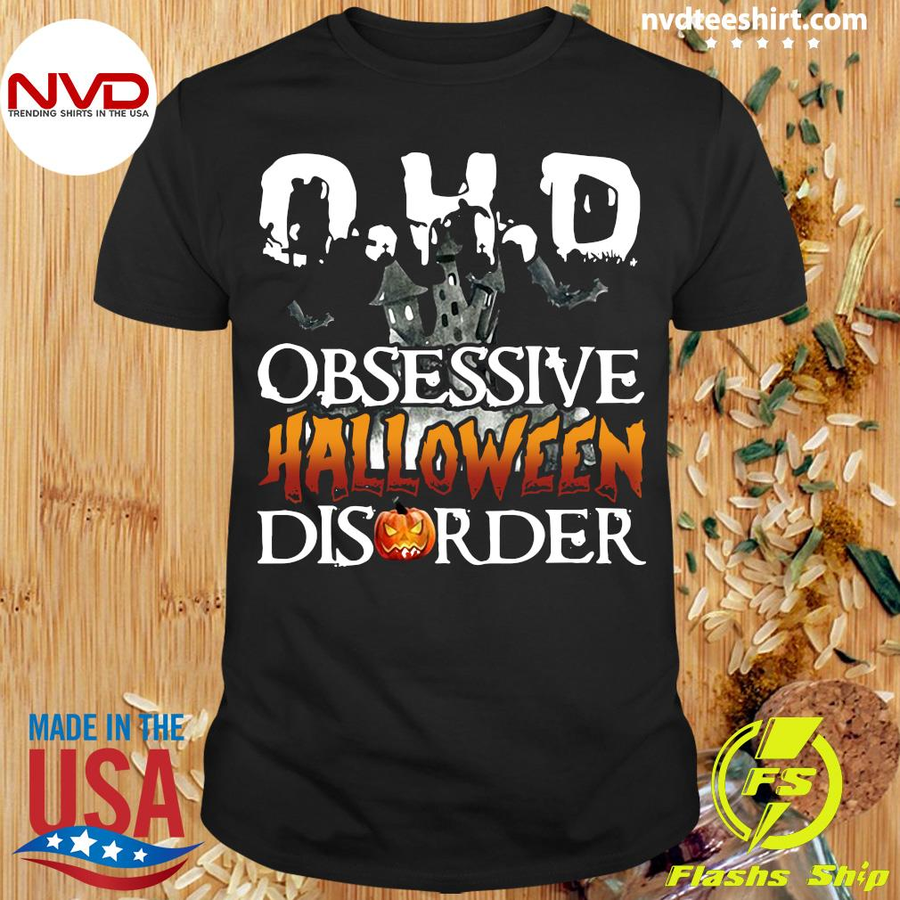 Official OHD Obsessive Halloween Disorder Shirt