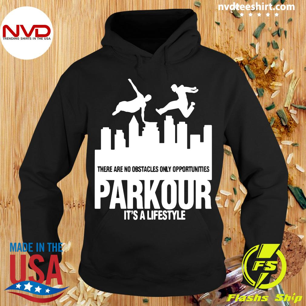 Official Parkour It's A Lifestyle Military Obstacle Training Fun Gift Shirt Hoodie