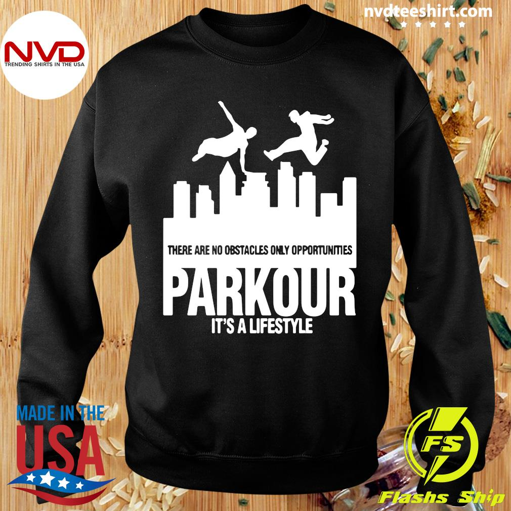 Official Parkour It's A Lifestyle Military Obstacle Training Fun Gift Shirt Sweater