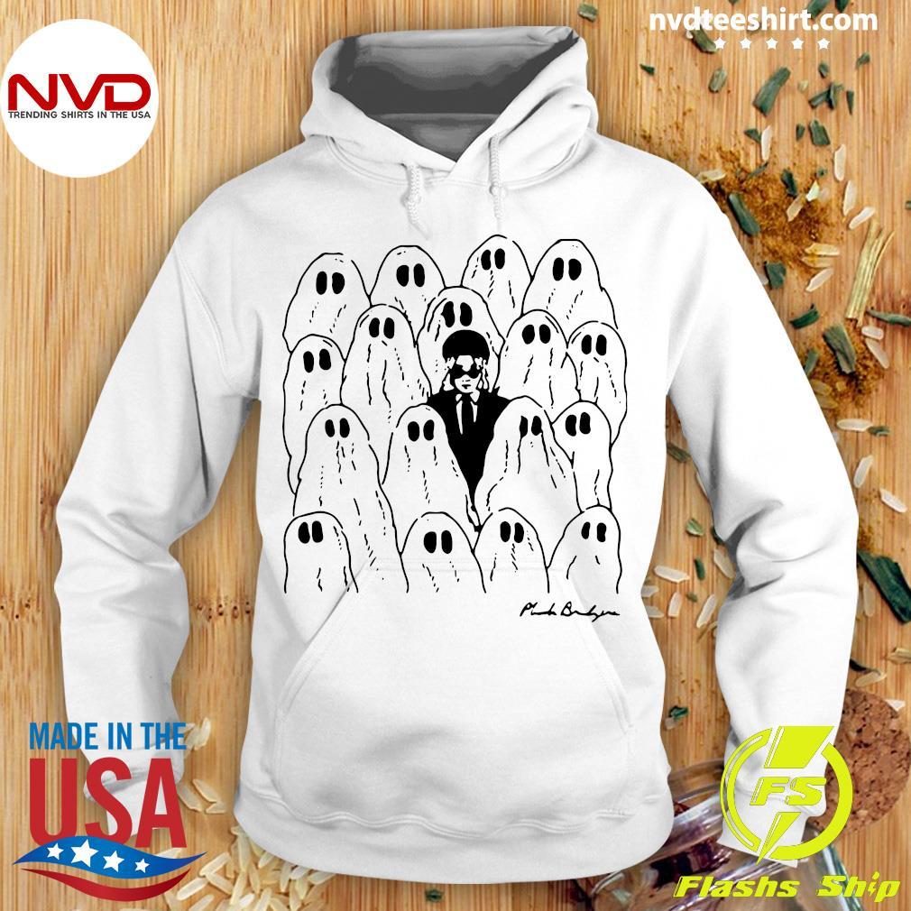 Official Phoebe Bridgers Merch Ghost White Shirt Hoodie