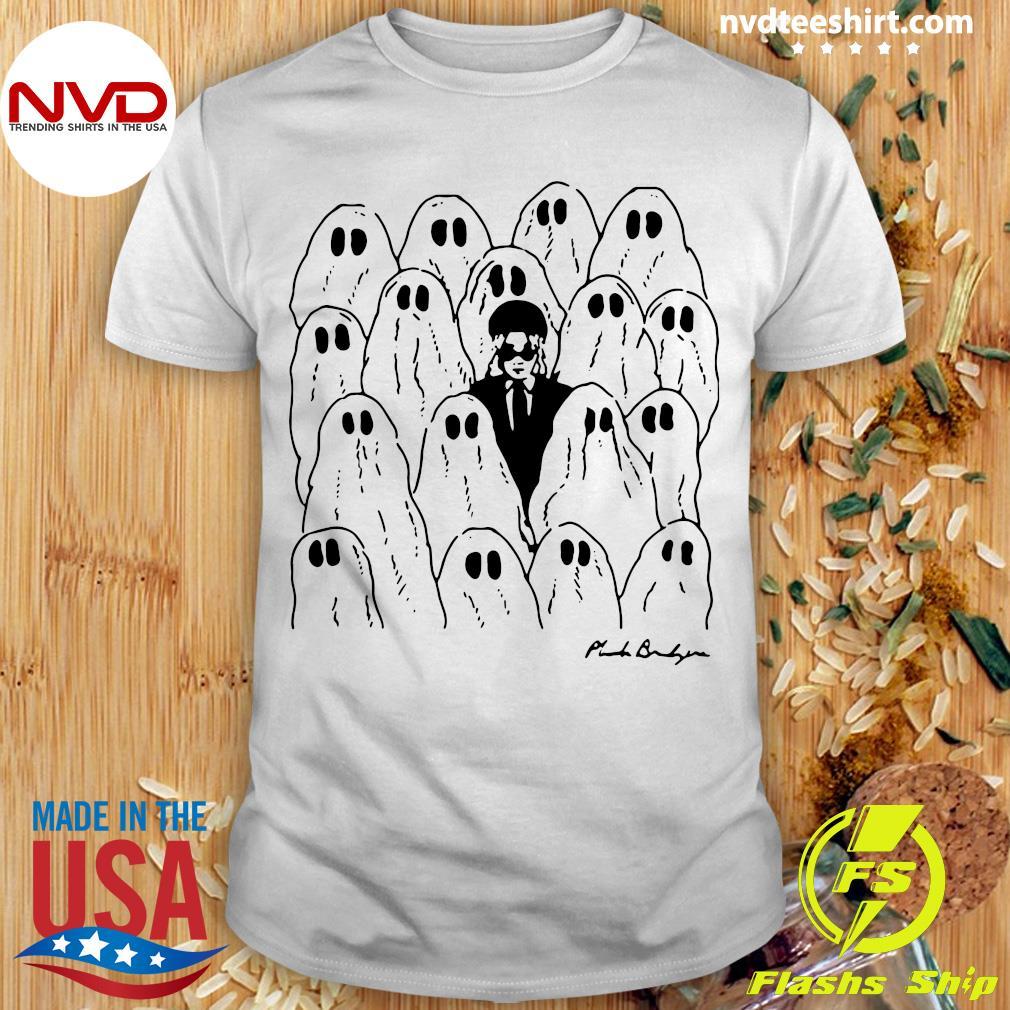 Official Phoebe Bridgers Merch Ghost White Shirt