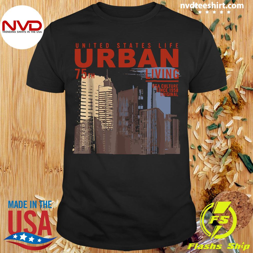 Official Photography Retro Urban United States City Scene Shirt