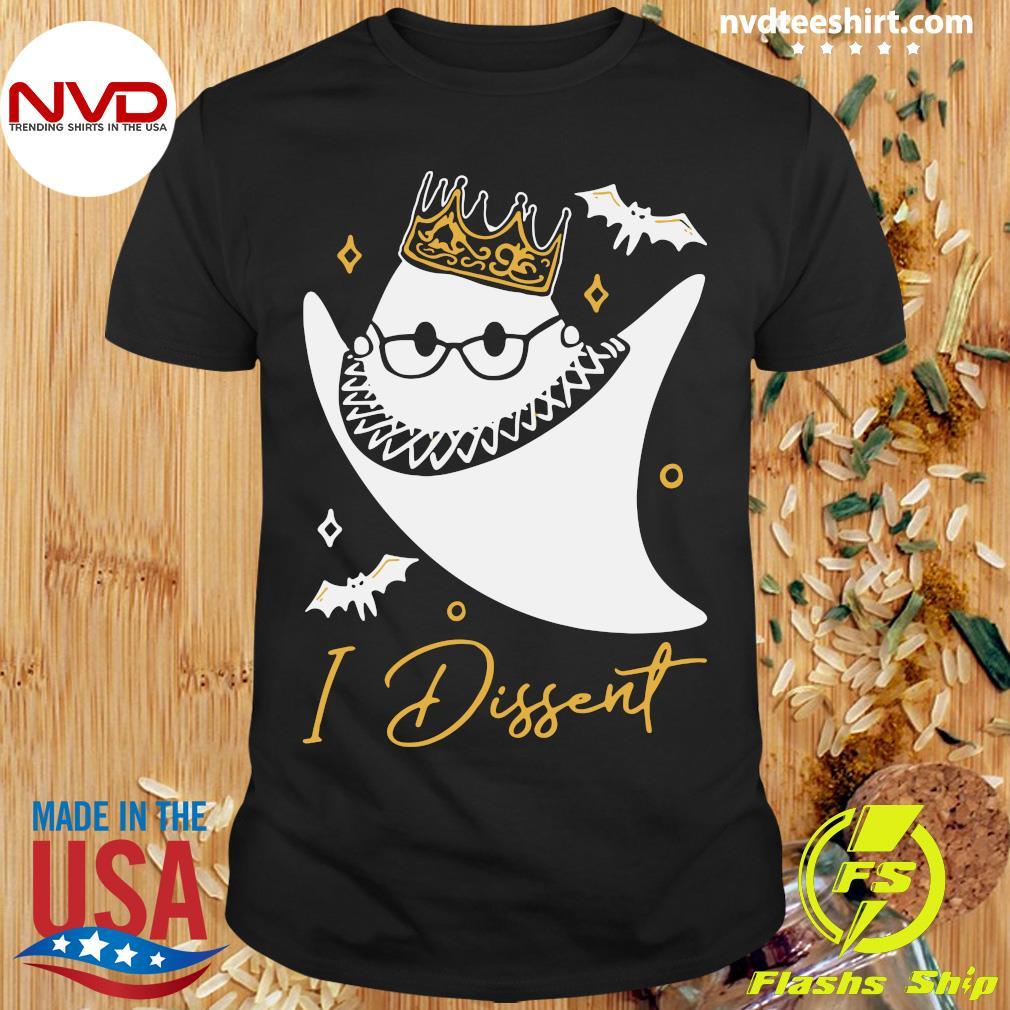 Official RBG In Dissent Halloween Shirt