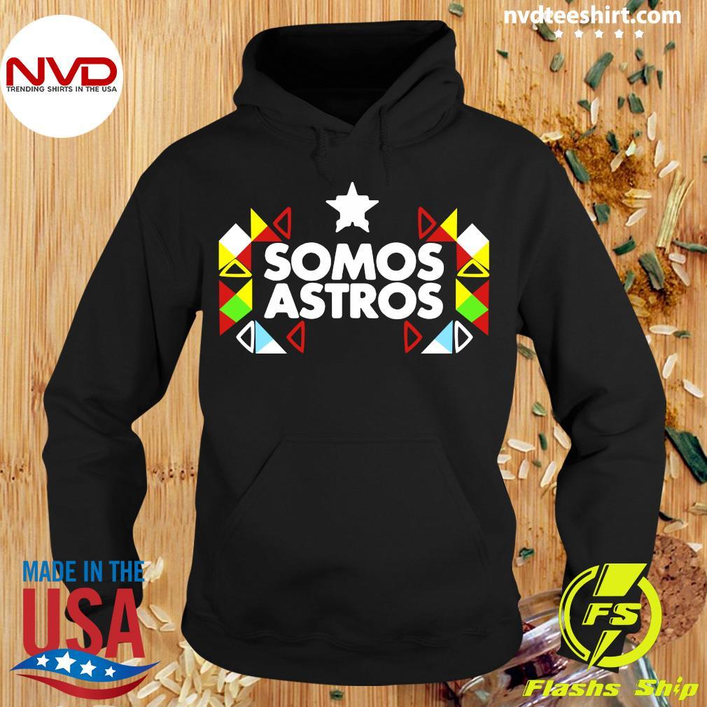 Official Somos Astros Shirt Hoodie