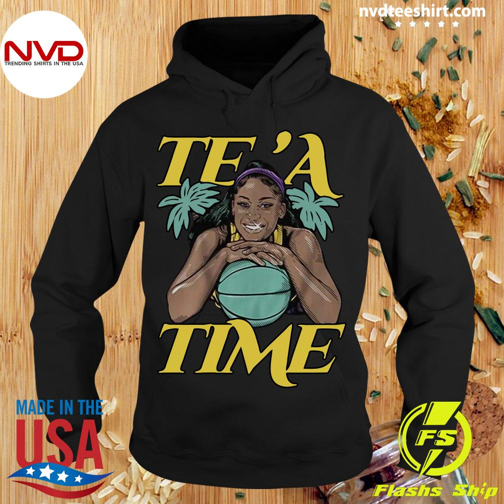 Official Te'a Cooper Te'a Time Los Angeles Shirt Hoodie