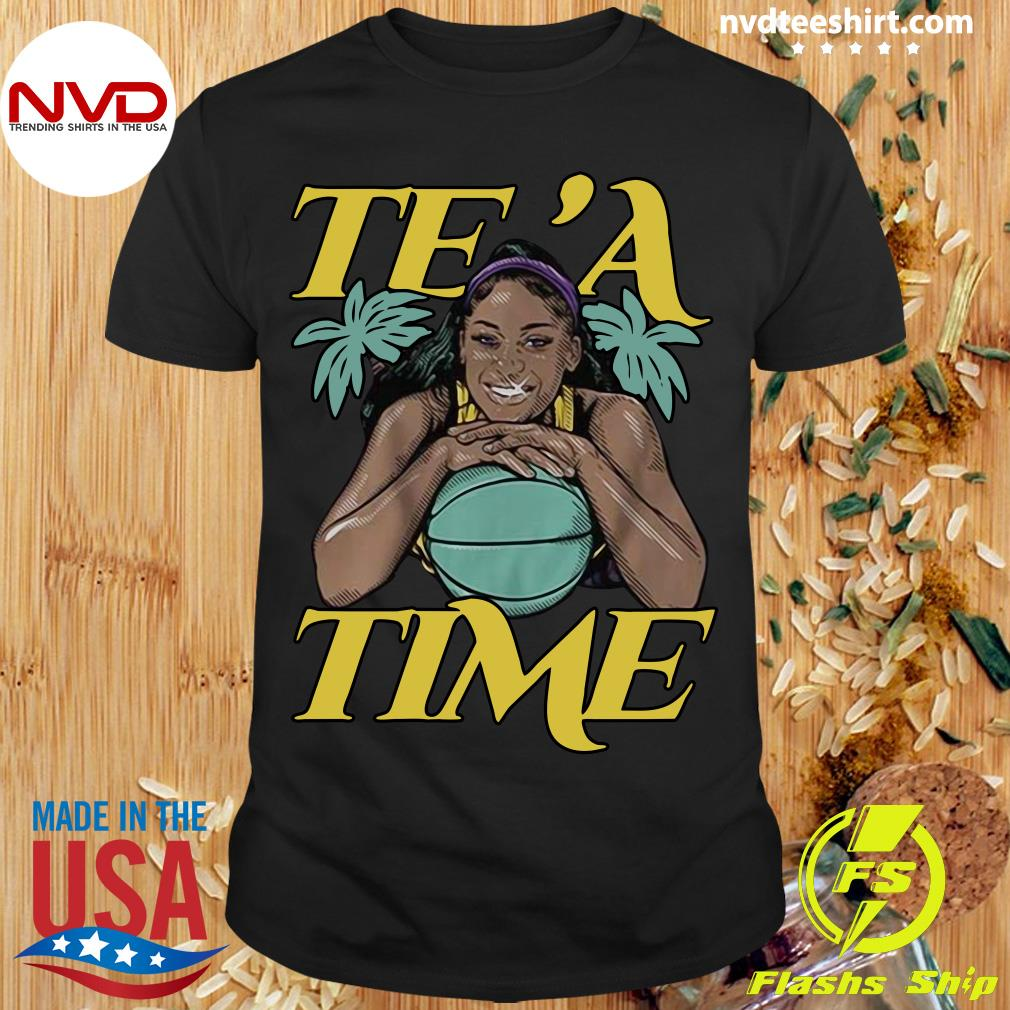 Official Te'a Cooper Te'a Time Los Angeles Shirt