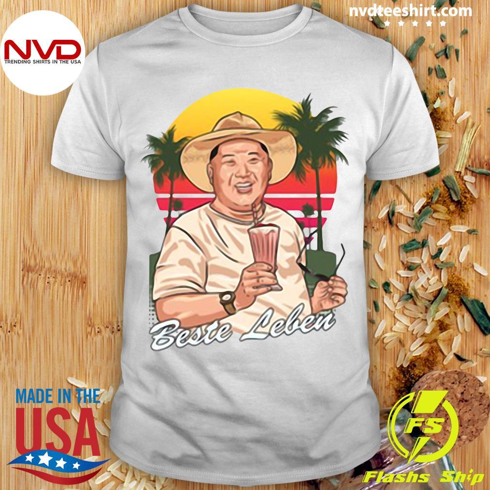 Official Versandleiter Kim Beste Leben Limited Shirt