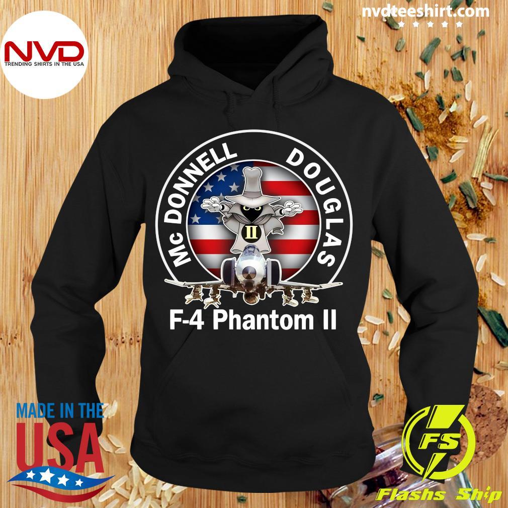 American Flag Mcdonnell Douglas-f 4 Phantom T-s Hoodie