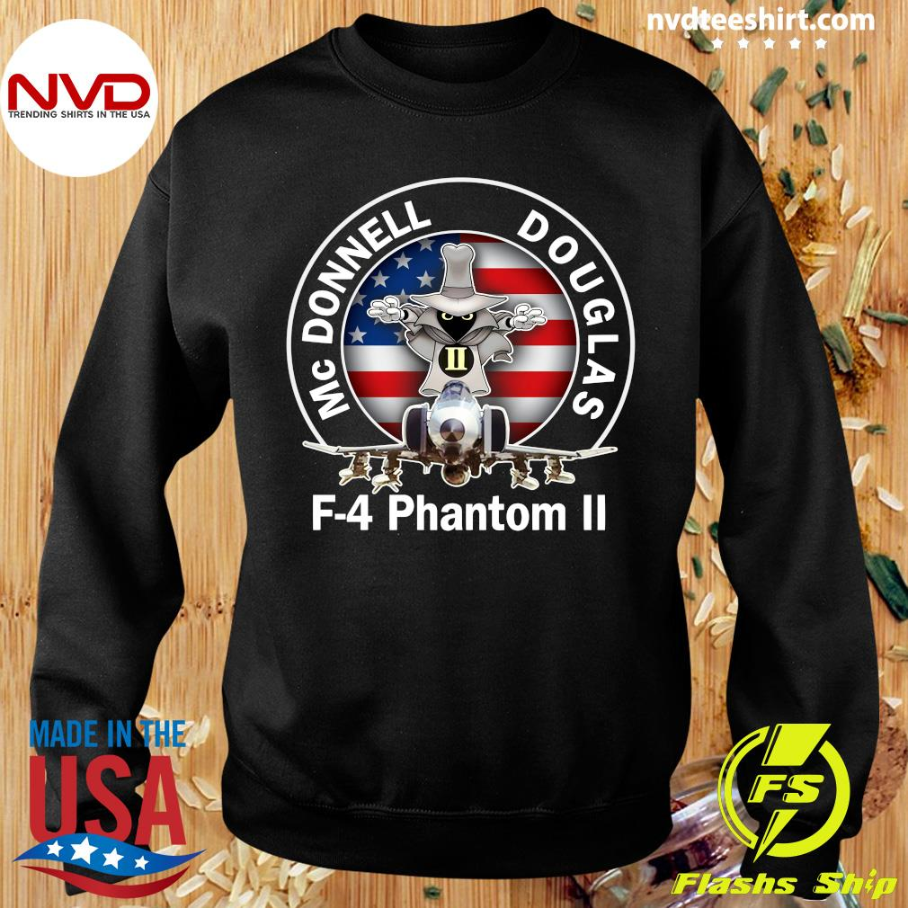 American Flag Mcdonnell Douglas-f 4 Phantom T-s Sweater