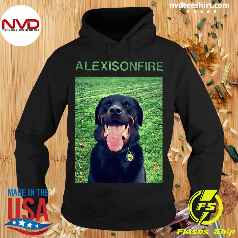 Funny Dog Alexisonfire Merch T-s Hoodie