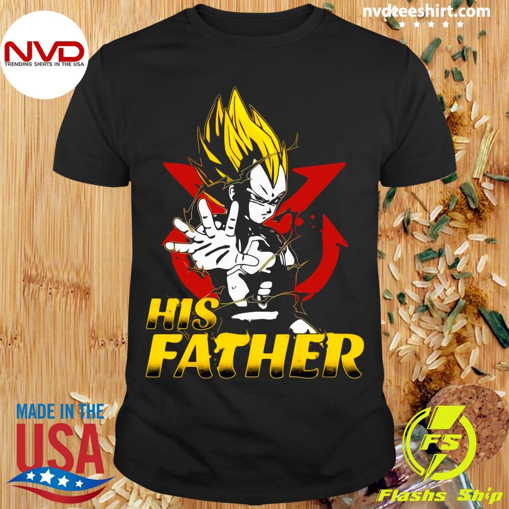 Funny Dragon Ball Super Saiyan Her Vegeta T-shirt