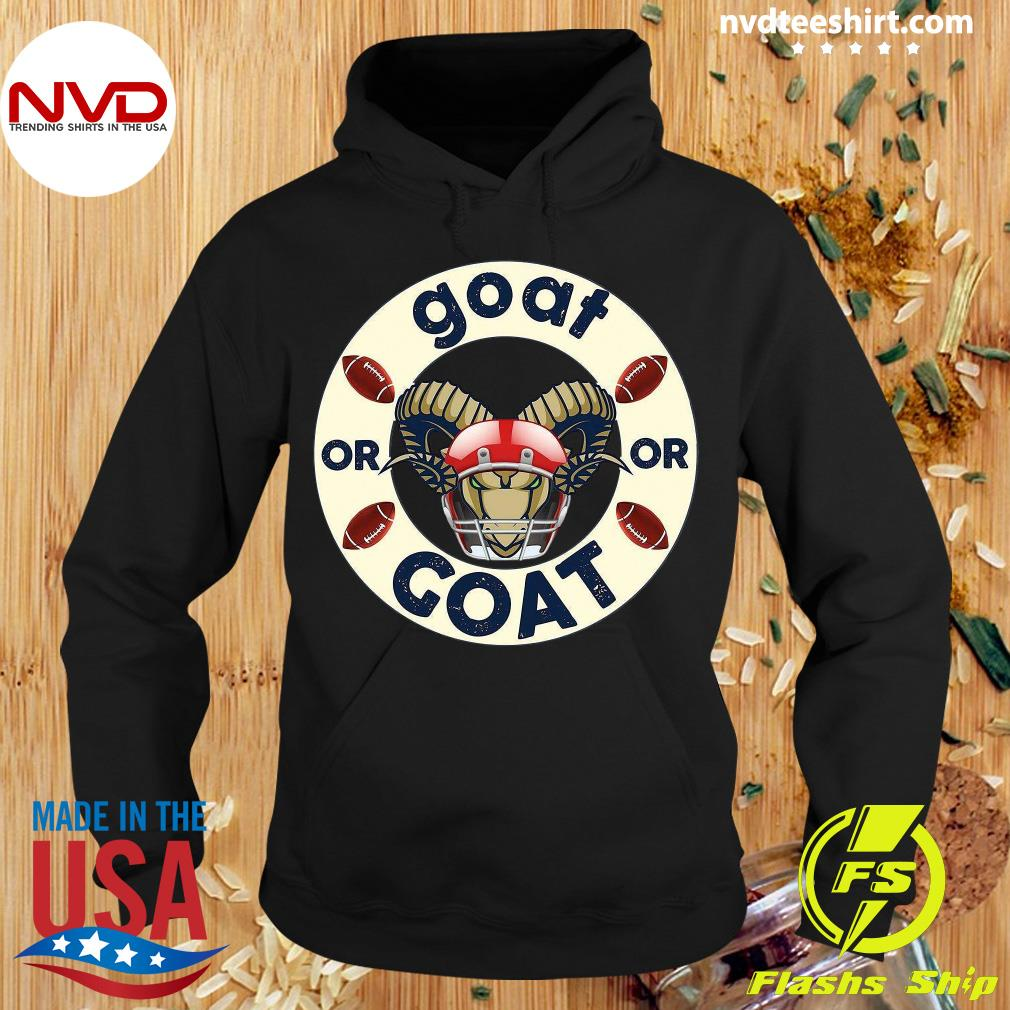 Funny Goat Or Or Goat Football T-s Hoodie