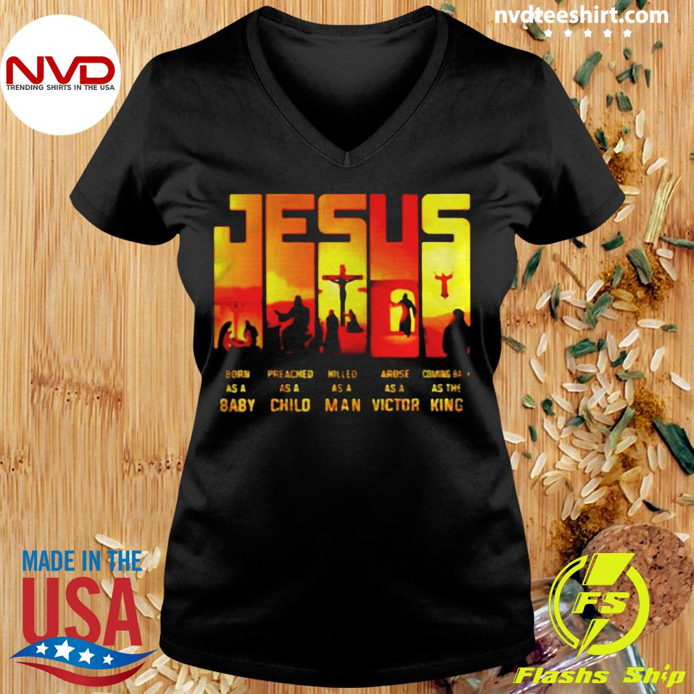 Funny Jesus True Story Baby Child Man Victor King T-s Ladies tee