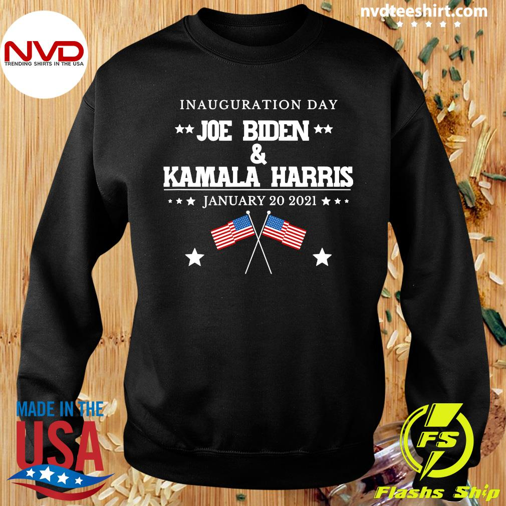 Funny Joe Biden And Kamala Harris Inauguration Day January 20 2021 American Flag T-s Sweater