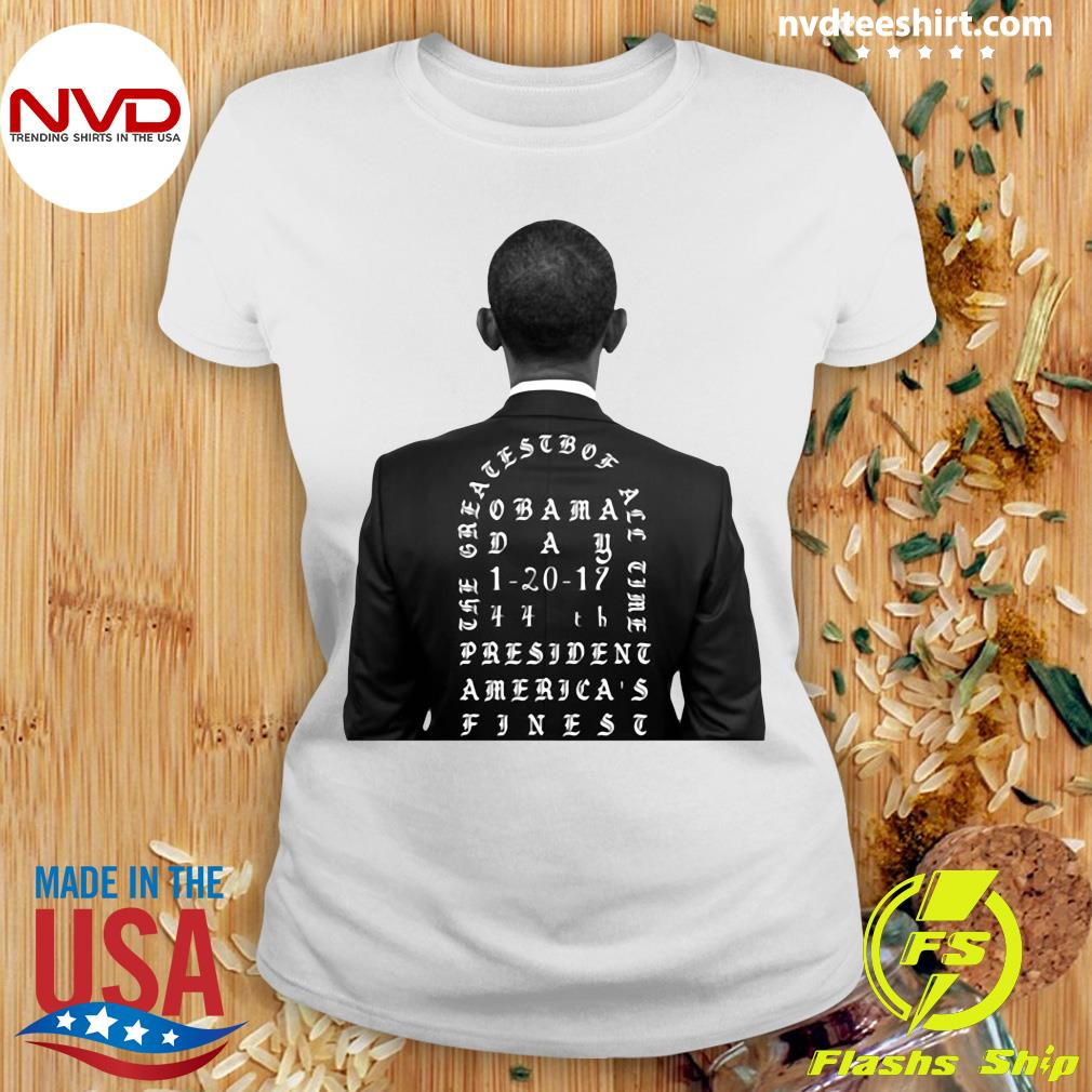 Funny Obama The Greatest Of All Time President America Finest T-s Ladies tee