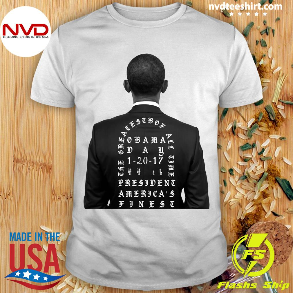 Funny Obama The Greatest Of All Time President America Finest T-shirt