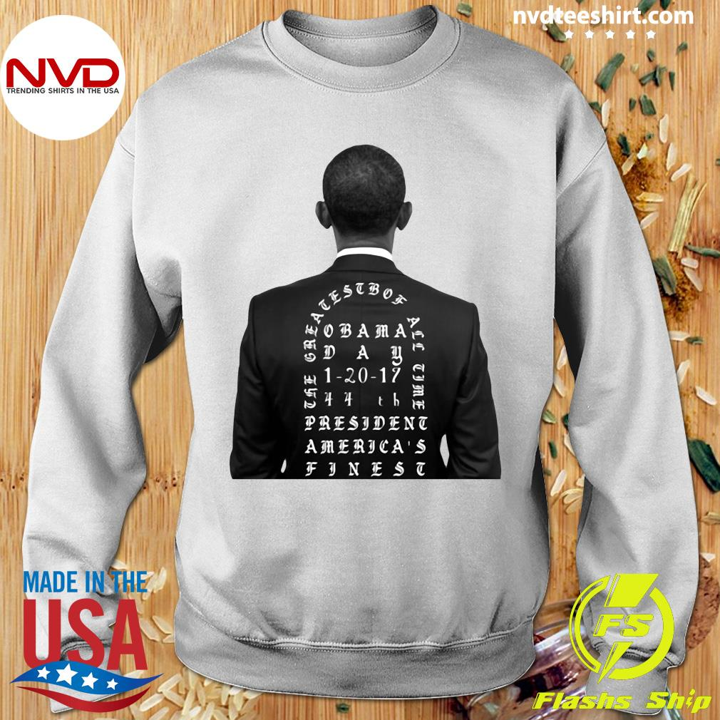 Funny Obama The Greatest Of All Time President America Finest T-s Sweater