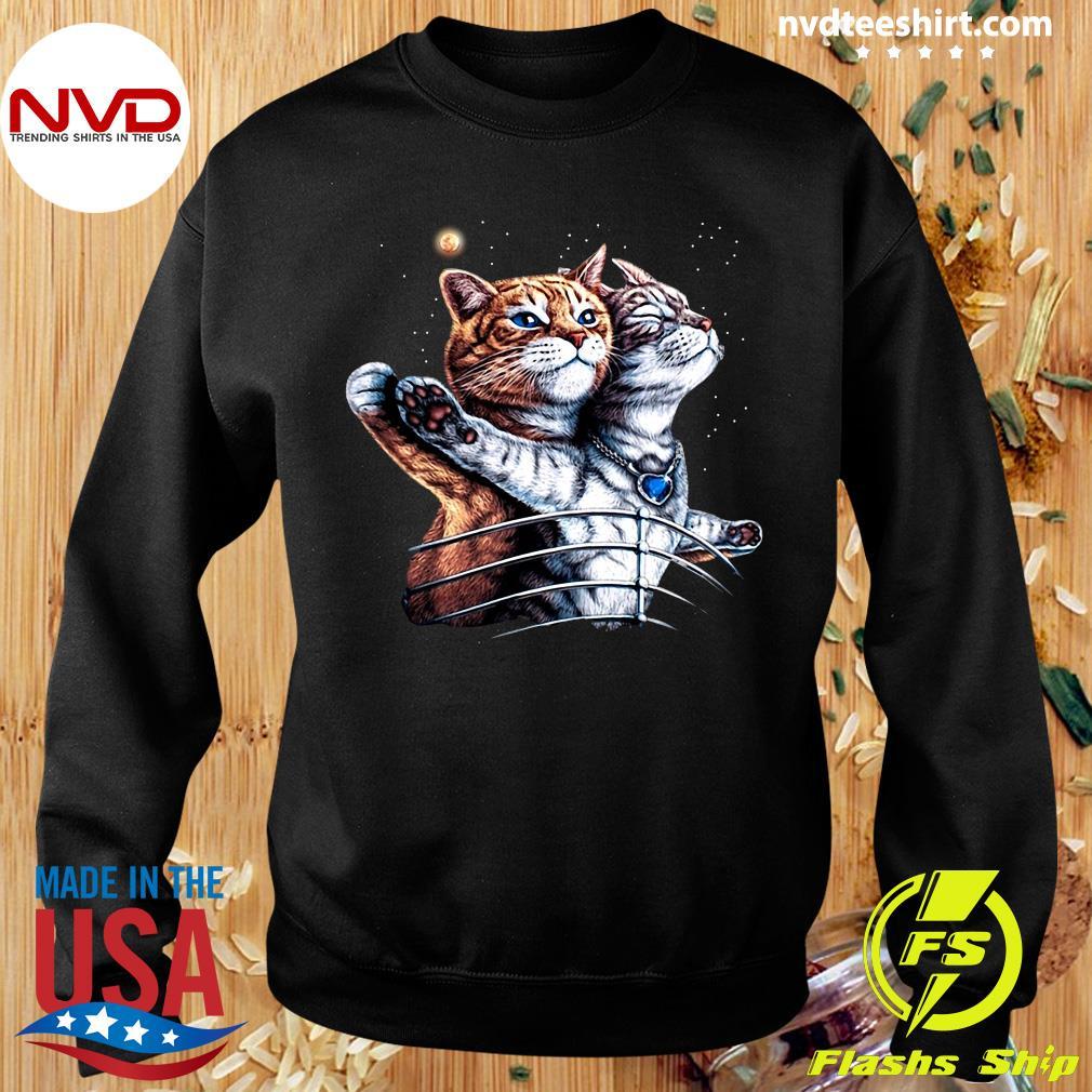 Funny Titanic Cat T-s Sweater