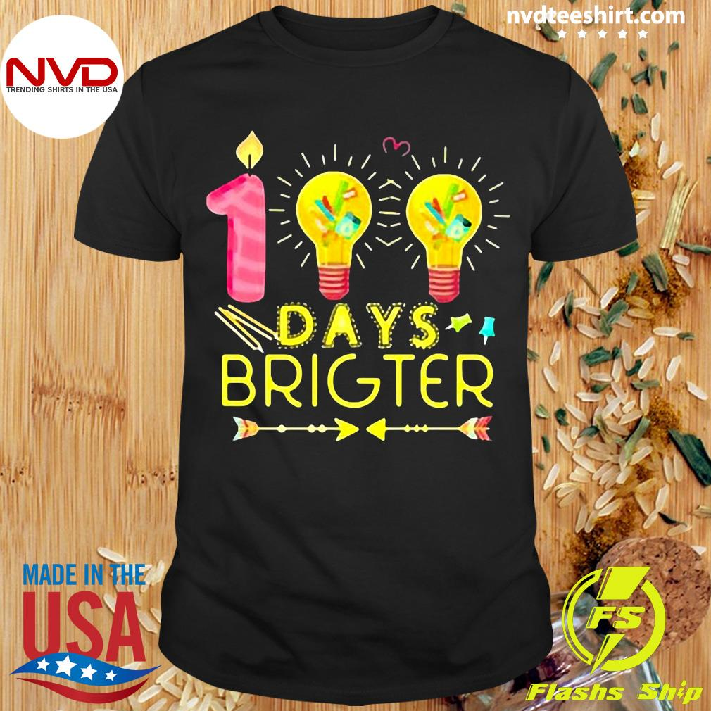 Official 100 Days Brighter T-shirt