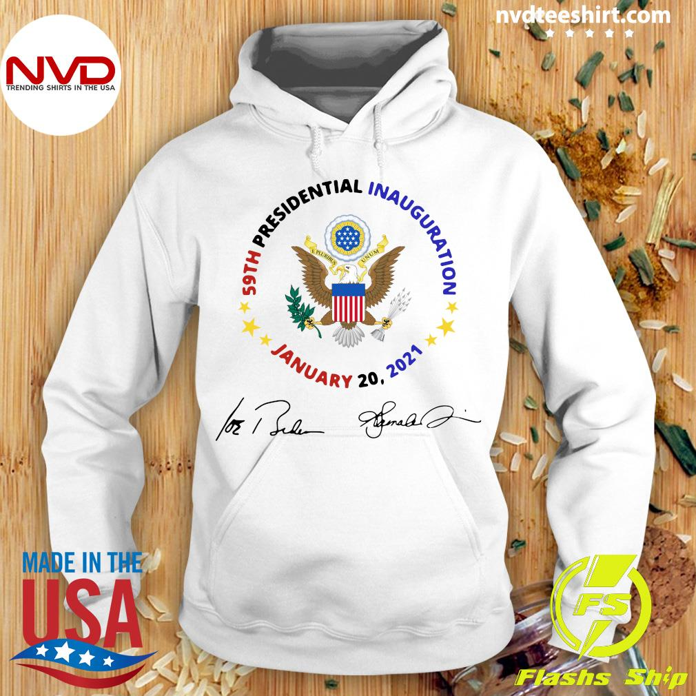 Official 59th Presidential Inauguration January 20 2021 Joe Biden Kamala Harris Signatures T-s Hoodie