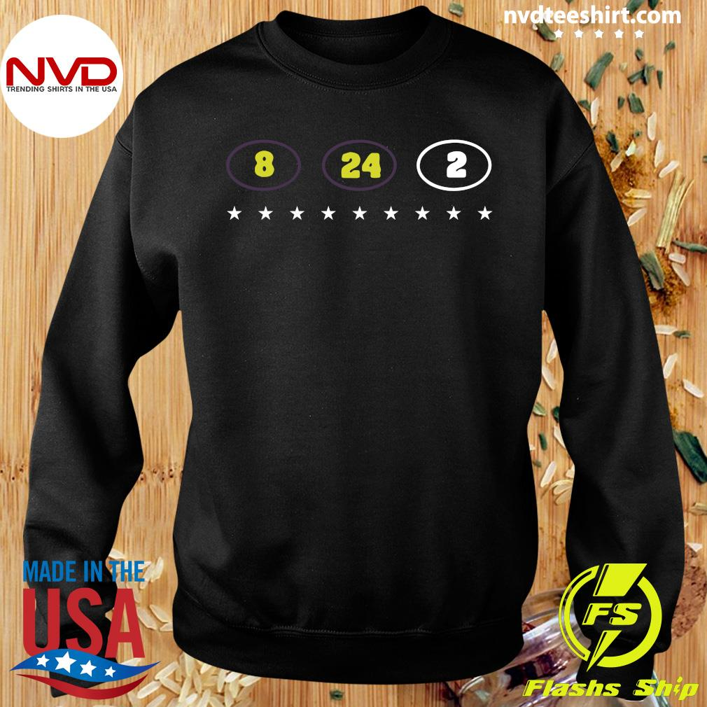 Official 8 24 2 Kobe Gianna Bryant Tribute T-s Sweater