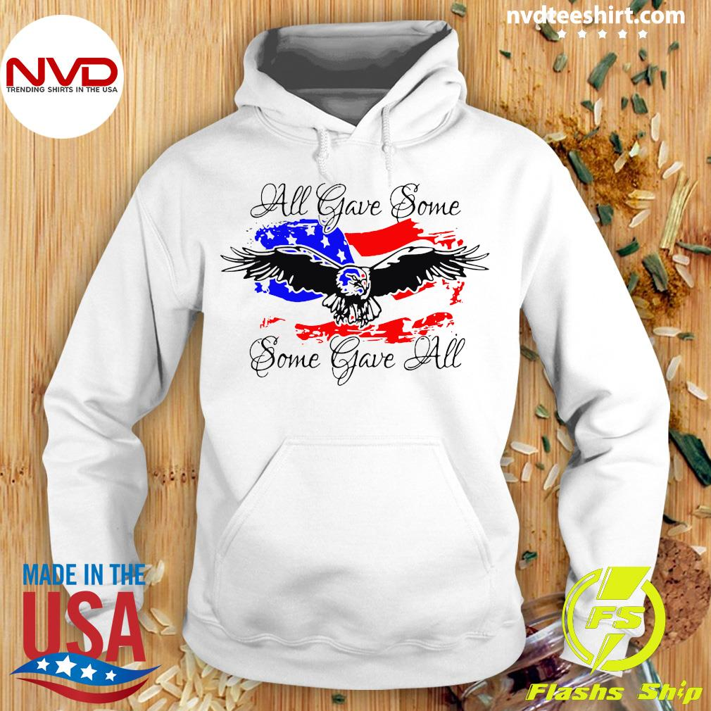 Official All Gave Some Eagle Some Gave All T-s Hoodie