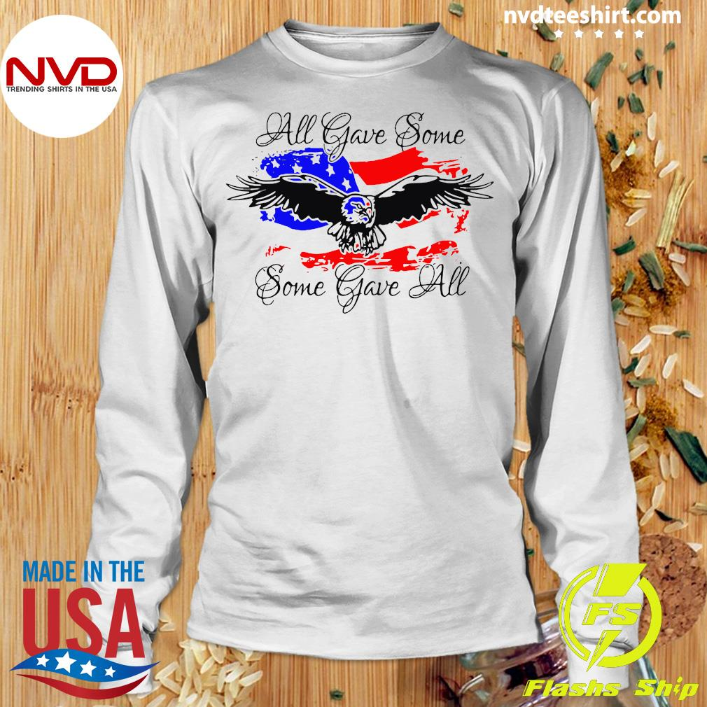 Official All Gave Some Eagle Some Gave All T-s Longsleeve
