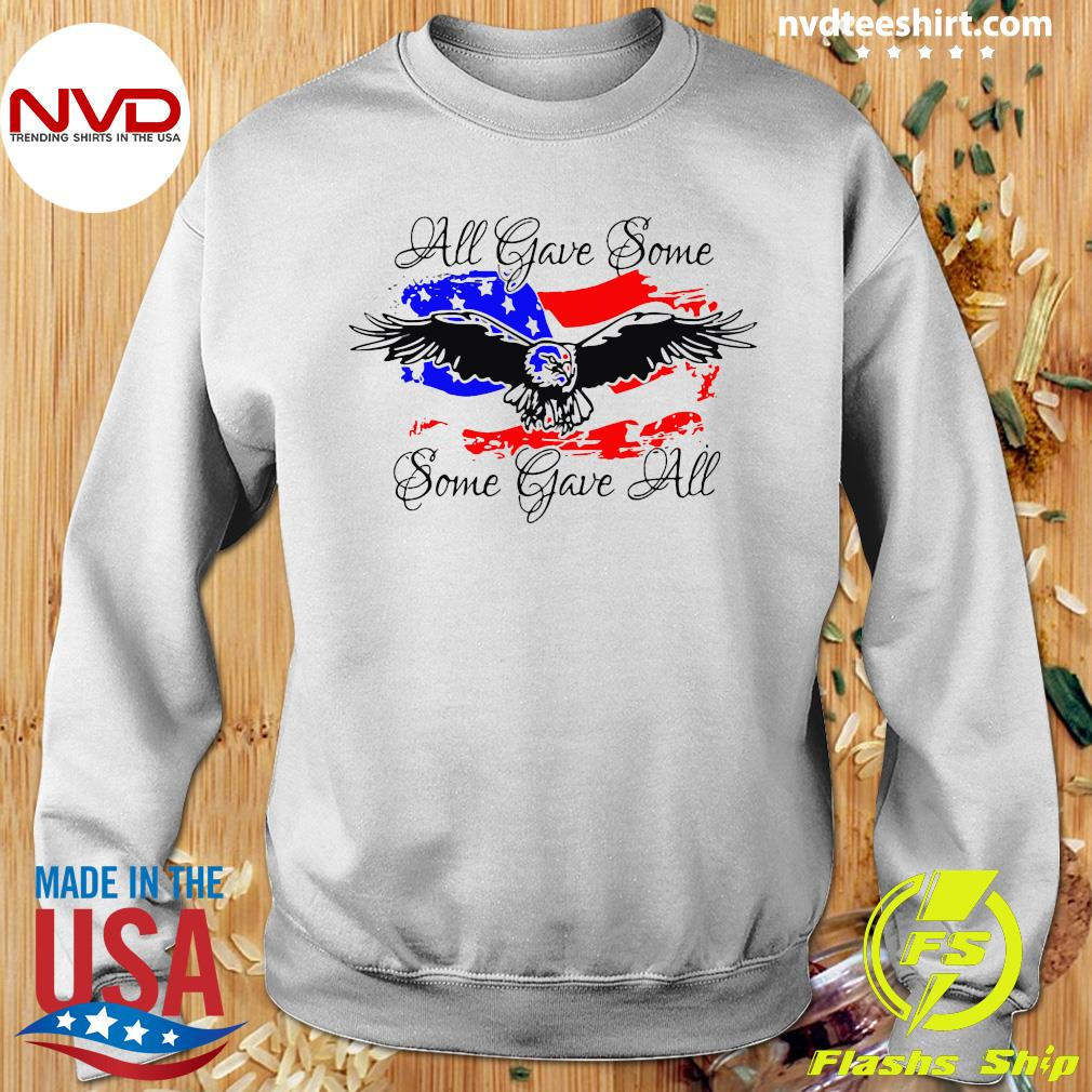 Official All Gave Some Eagle Some Gave All T-s Sweater